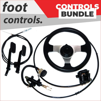 Foot controls - Bundle pack #2 - Helmetkarts