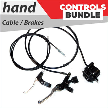 Hand controls - Bundle pack #1 - Helmetkarts