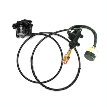 Hydraulic foot brake w/ separate reservoir - Helmetkarts