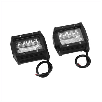 "Pair (x2) LED light 4"" 200 watts - Helmetkarts"