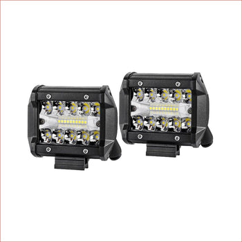"Pair (x2) LED light 4"" 400 watts - Helmetkarts"