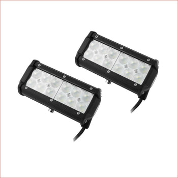 Pair (x2) LED light 4 60 watts Flood Lights Electrical