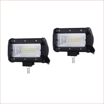 Pair (x2) LED light 5 72 watts Flood Lights Electrical