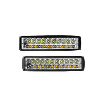 "Pair (x2) LED light 6"" 90 watts - Helmetkarts"