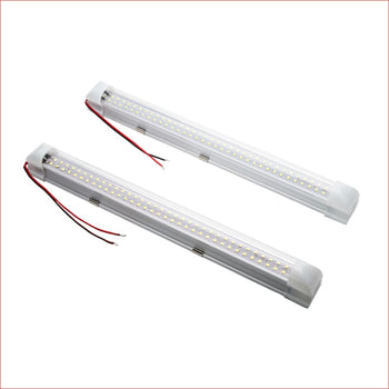 Pair (x2) White LED - 350mm - Helmetkarts