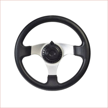 Traditional circle race steering wheel - Helmetkarts