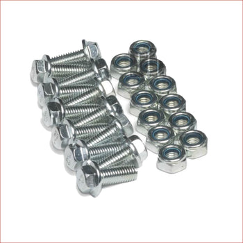 Wheels / Rims Bolts + Nuts kit - Helmetkarts