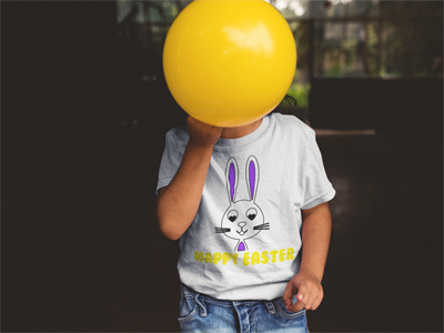 Happy Easter Kids Tee