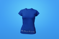 Woman's Crew Neck Shirt - Blue