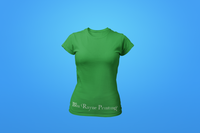 Woman's Crew Neck Shirt - Green