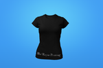 Woman's Crew Neck Shirt - Black