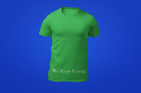 Men's Crew Neck Shirt - Green