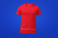 Men's Crew Neck Shirt - Red