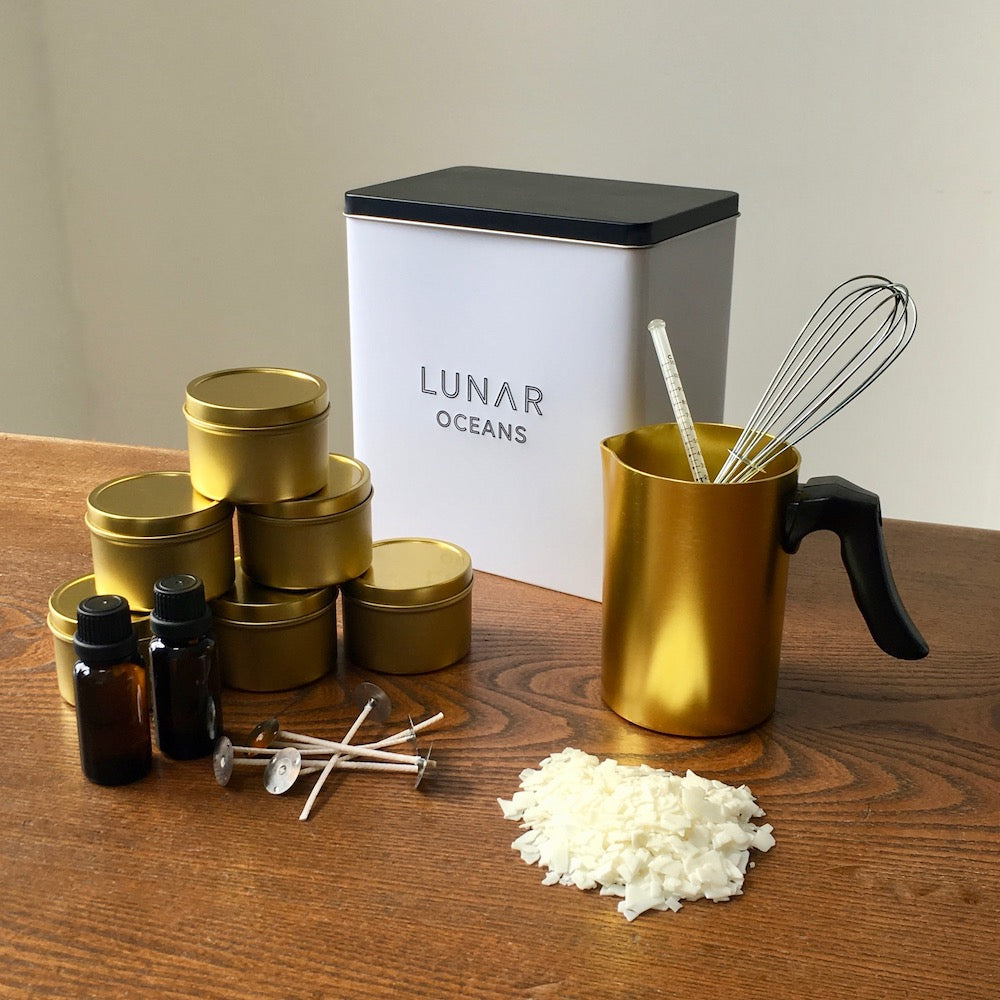 Scented Candle Making Kit by Lunar Oceans
