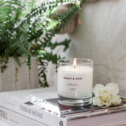 Peony & Rose Scented Candle, 200g