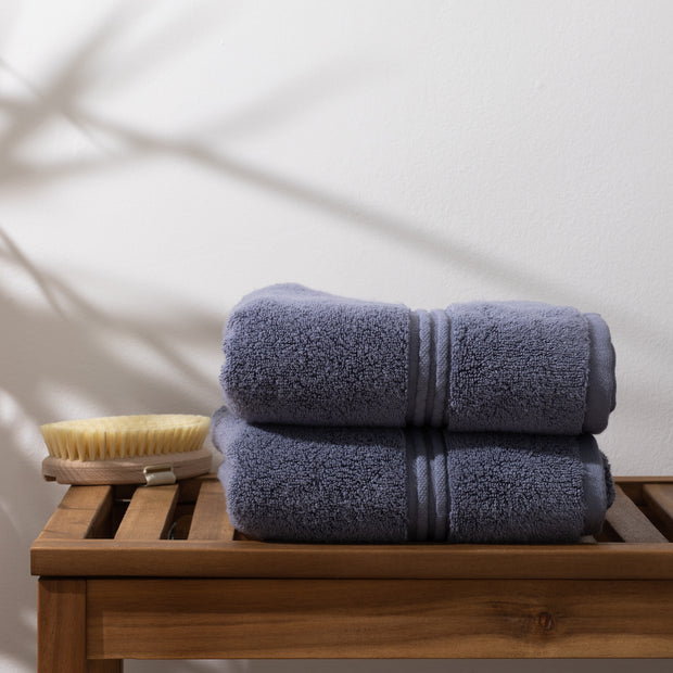 Blue Hand Towels