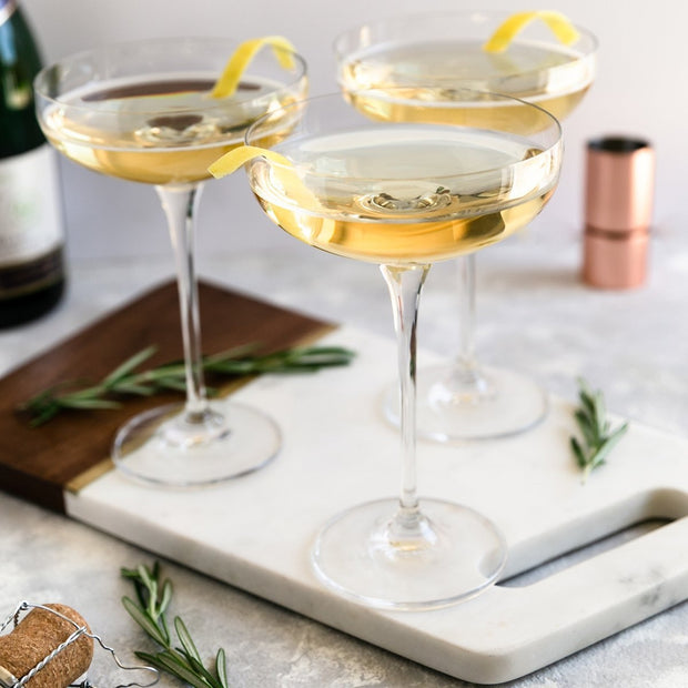 champagne glasses vintage coupes