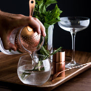 Copper Julep Strainer by Lunar Oceans