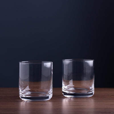 crystal gin glasses set of 2