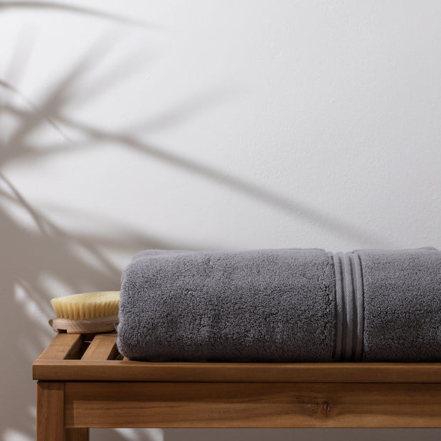 Luxury Grey Bath Sheet