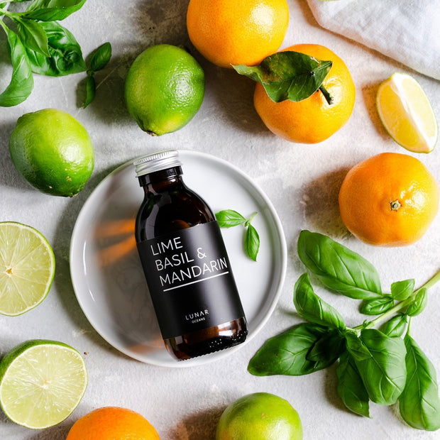 Lime Basil Mandarin Fragrance Oil by Lunar Oceans