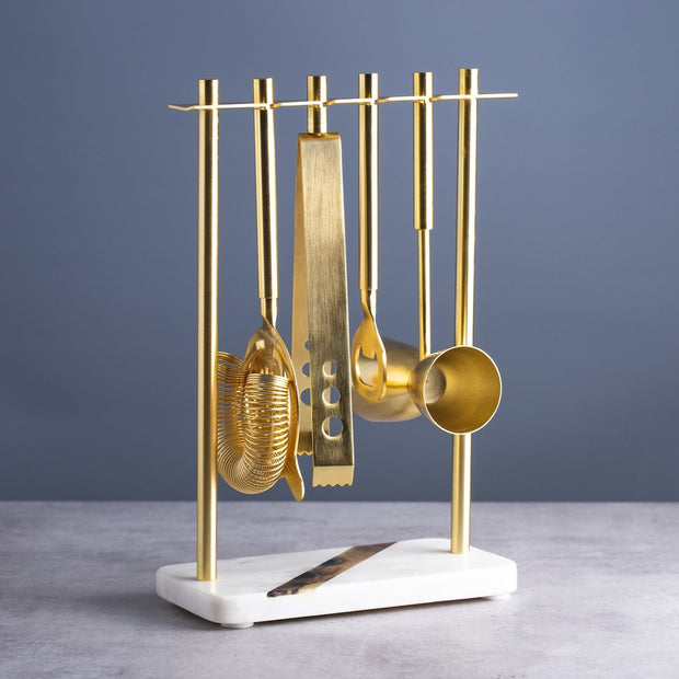Gold Cocktail Making Kit by Lunar Oceans