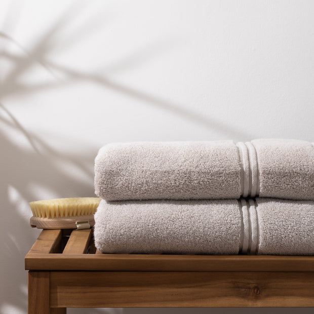 Oatmeal Bath Towel Cotton