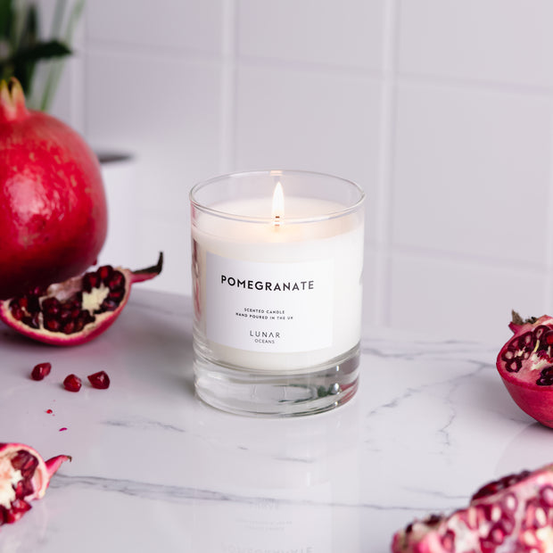 Pomegranate Scented Candle 200g