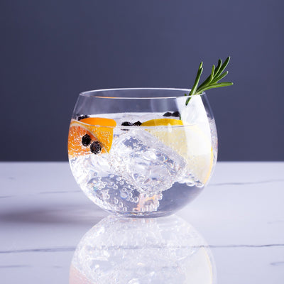 Gin Glasses by Lunar Oceans, 400ml Round Tumblers