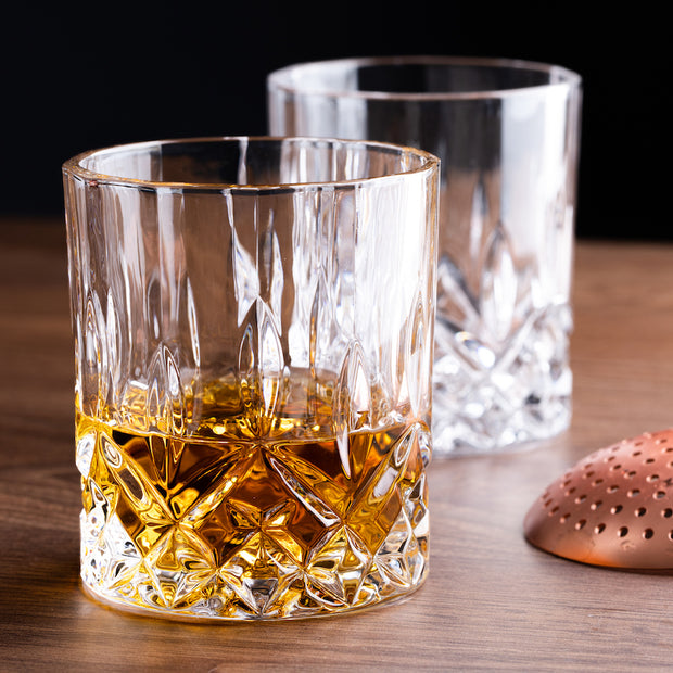 Old Fashioned Whiskey Glass Set of 2