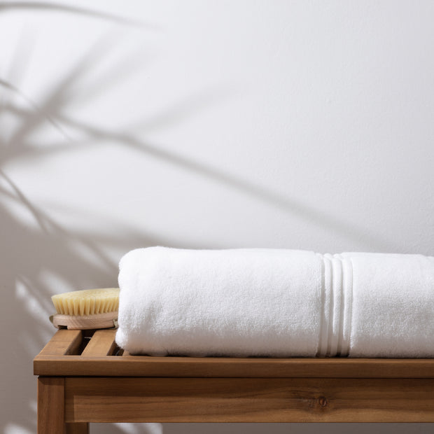 Luxury Bath Sheet White