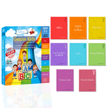 Genius Kids Worksheets for LKG (KG-1) (3-5 years)