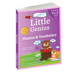 Phonics & Vocabulary: Pre-Kindergarten (3-5 years)