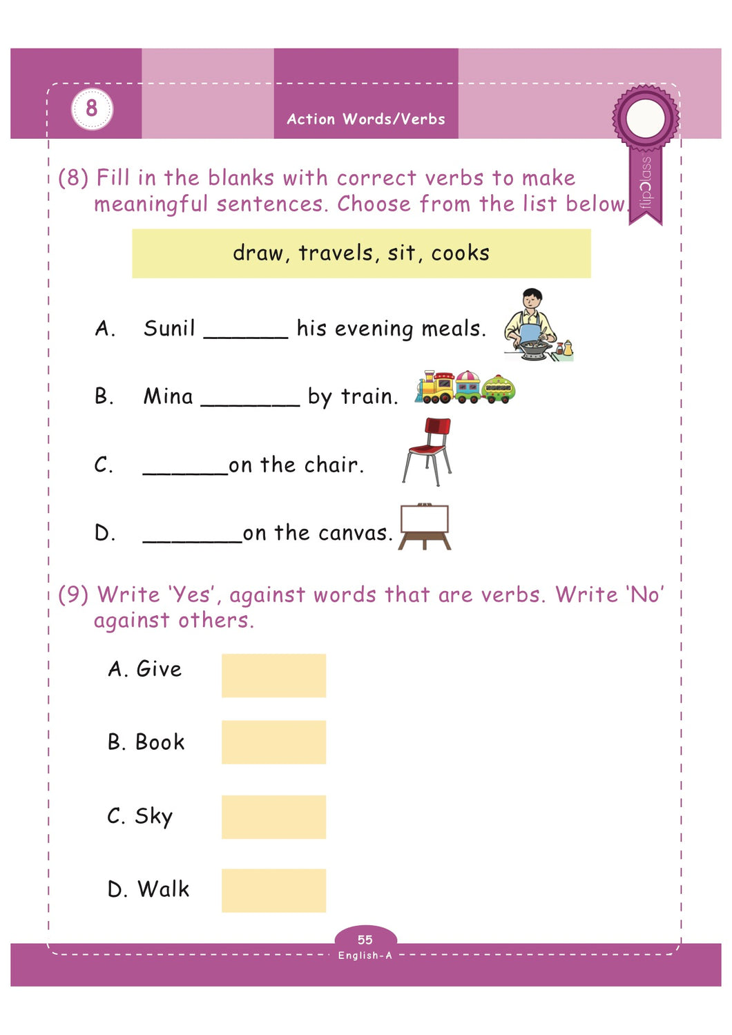 Grade Eng X X on standard first grade science worksheet
