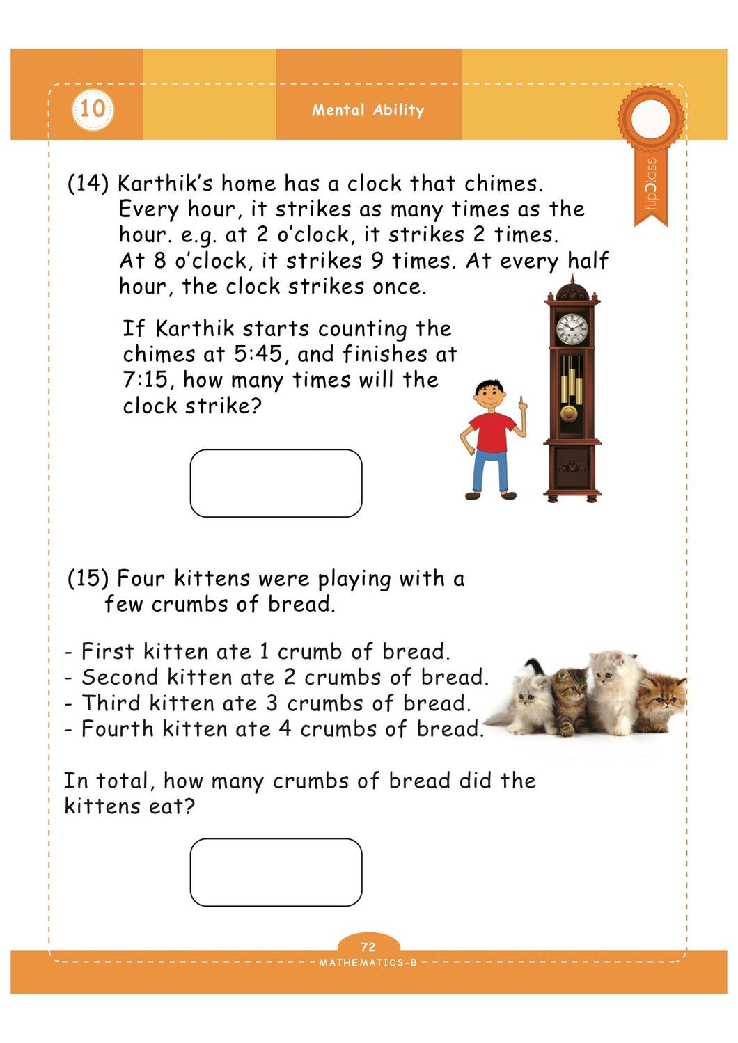 GeniusKids' Worksheets for Class-1 (1st Grade) | Math ...