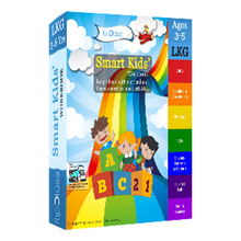 Smart Kids Worksheets for LKG ( KG 1 ) & Montessori (Bundle of 7 Workbooks)-Math, Science & English