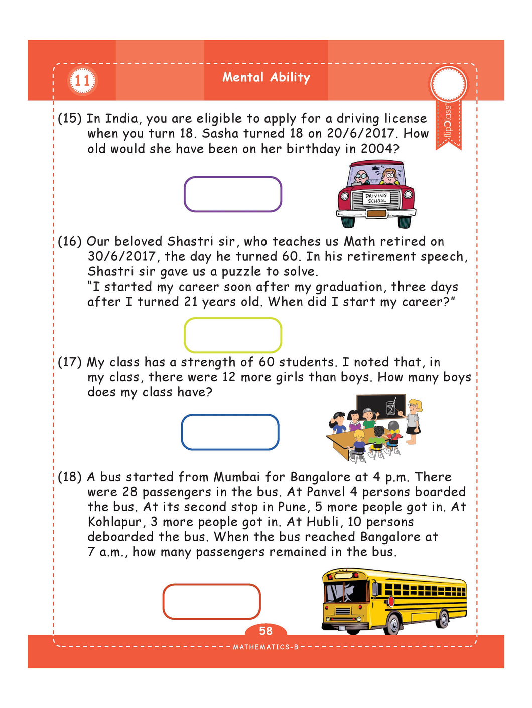 genius kids worksheets for class 4 4th grade math english science. Black Bedroom Furniture Sets. Home Design Ideas