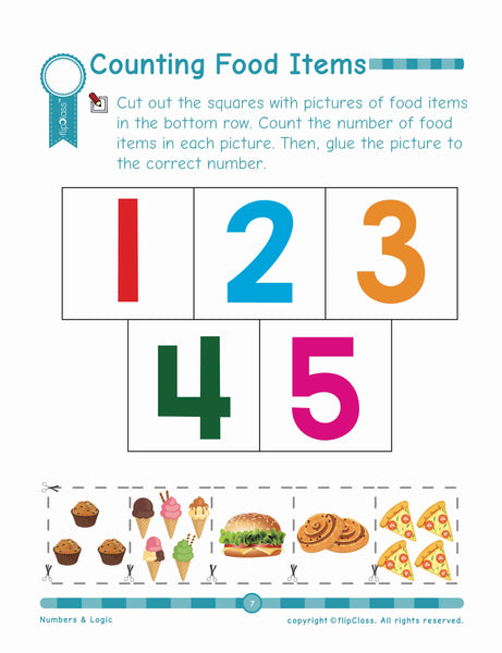 Numbers & Logic: Pre-Kindergarten (3-5 years)