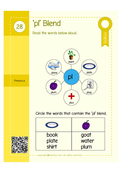 Genius Kids Worksheets for UKG (KG-2) (4-6 years)