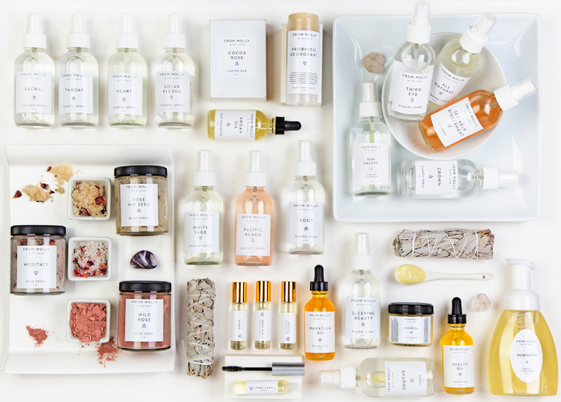 Introducing All Natural Feminist Beauty Brand: From Molly With Love