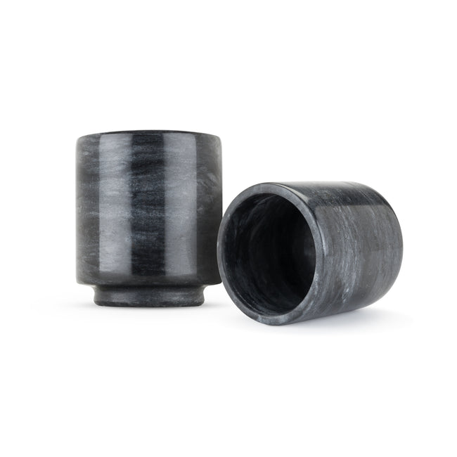 Black Marble Shot Glasses