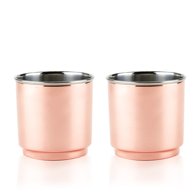 Copper Double Walled Tumbler
