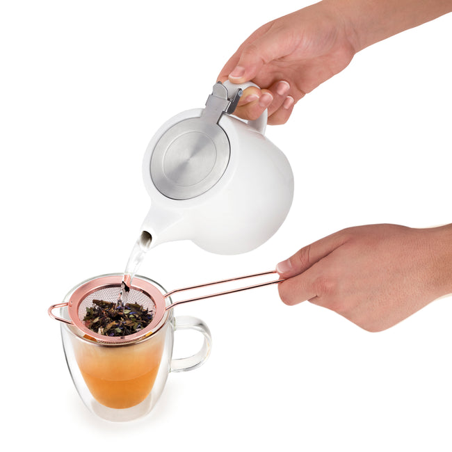 Rose Gold Tea Strainer