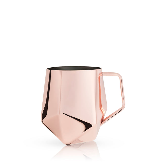 Copper Faceted Moscow Mule Cup