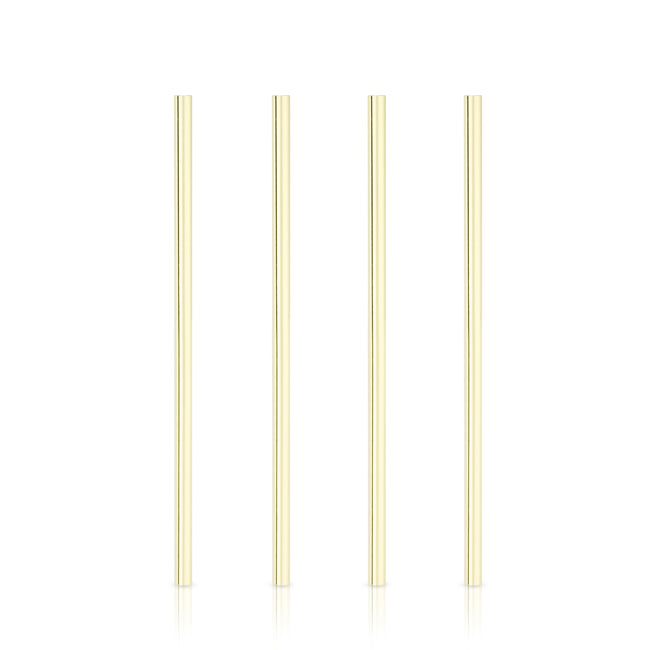 Gold Wide Cocktail Straws