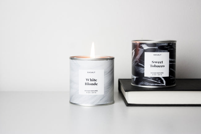 White Blonde Soy Candle