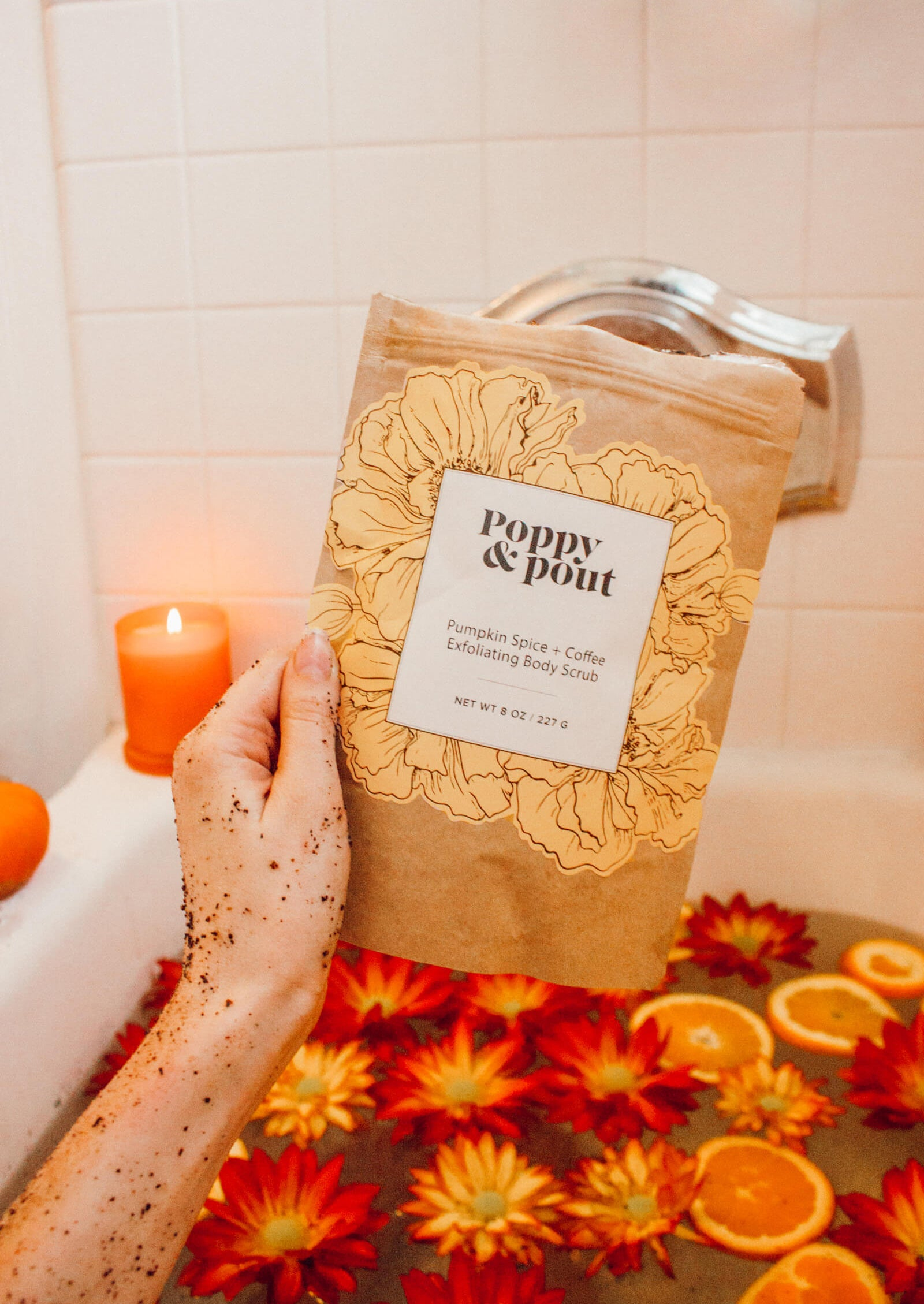 Pumpkin Spice + Coffee Body Scrub