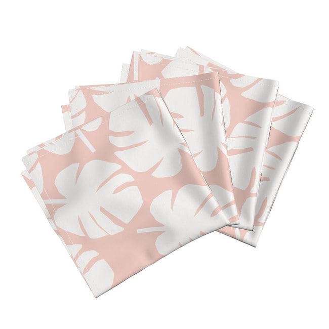 Palm Leaf Napkin in Blush
