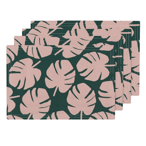 Palm Leaf Napkin in Emerald