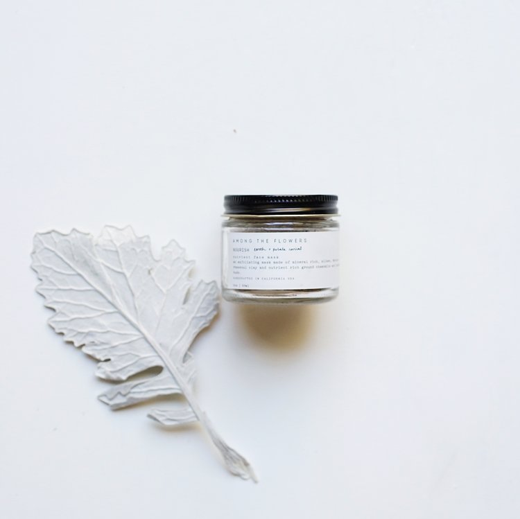 Nourish Earth + Petal Mask